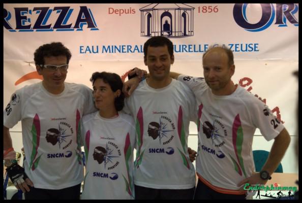 Corsica Raid 2012 : suivi d'une equipe